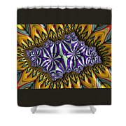 Astonishment - A Fractal Artifact Shower Curtain