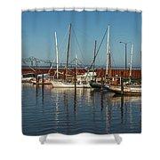Astoria Marina Shower Curtain