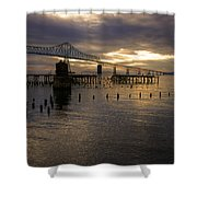 Astoria-megler Bridge 2 Shower Curtain