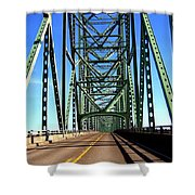 Astoria-megler Bridge Shower Curtain