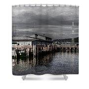 Astoria Waterfront 2 Shower Curtain