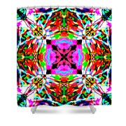 Astra Rose Shower Curtain