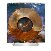 Astral Abstraction I Shower Curtain