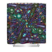 Astral Elixir Shower Curtain