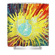 Astral Grasp Shower Curtain