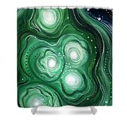 Astral Vision. Clearing Of Mind Shower Curtain