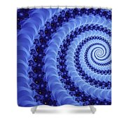 Astral Vortex Shower Curtain