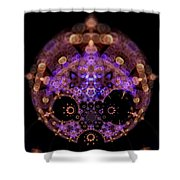 Astralightmandala Shower Curtain