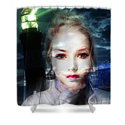 Astrid Has A Secret, She Wouldn't Say A Word Shower Curtain