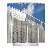 Astrodome Shower Curtain