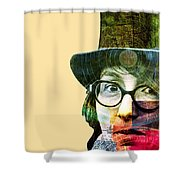Astrologer Shower Curtain