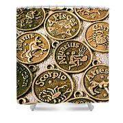 Astrology Charms Shower Curtain