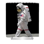Astronaut Shower Curtain