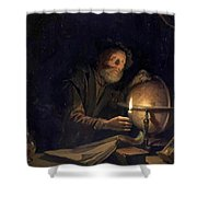 Astronomer 1655 Shower Curtain