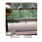 Astronomy Falling Water Shower Curtain