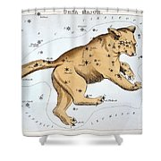 Astronomy: Ursa Major Shower Curtain