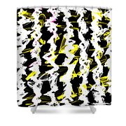 Asunder Shower Curtain