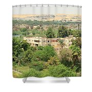 Aswan  Shower Curtain