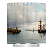 At Anchor Shower Curtain
