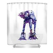 At-at Shower Curtain