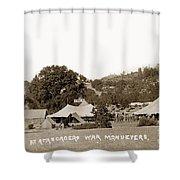 At Atascadero War Manuevers Circa 1915 Shower Curtain