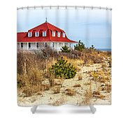 At Cape May Point Shower Curtain