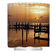 At Day's Close Shower Curtain