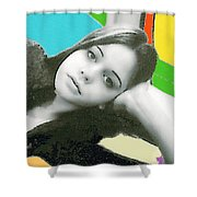 At Ease Shower Curtain