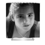 At Fourteen Shower Curtain