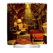 At Home With Al Capone Shower Curtain
