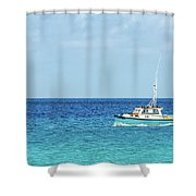 At Sea Shower Curtain