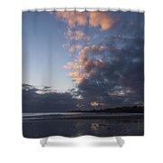 At Sundown 12/24/15 Shower Curtain