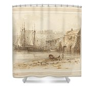 At Tenby Shower Curtain