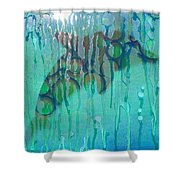 At The Aquarium Shower Curtain