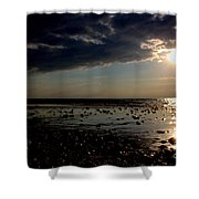 At The Bend Shower Curtain