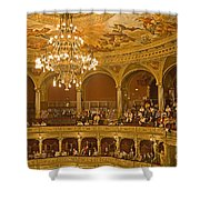 At The Budapest Opera Shower Curtain