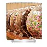At The Candy Store Shower Curtain