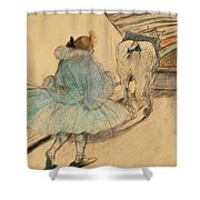 At The Circus Entering The Ring 1899 Shower Curtain
