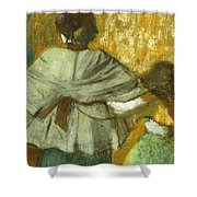 At The Couturier, The Fitting Shower Curtain