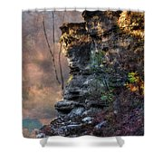 At The Edge Of The Earth Shower Curtain