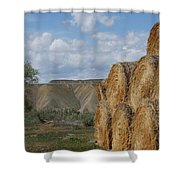 At The End Of Nowhere Road Shower Curtain