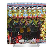 At The Fair Shower Curtain