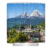 At The Foot Of The Watzmann Shower Curtain