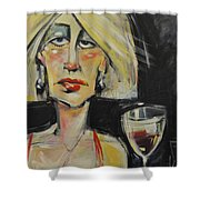 At The Gala - Reprise Shower Curtain