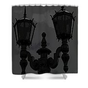 At The Gate Shower Curtain
