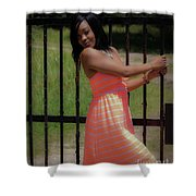 At The Gates Shower Curtain