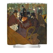 At The Moulin Rouge 1892 95 Shower Curtain
