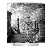 At The Old Gate Shower Curtain