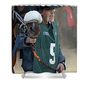 At The Racetrack 5 Shower Curtain