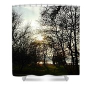 At The Rhine Bank Shower Curtain